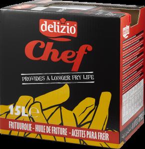 Delizio chef olie (15l can)