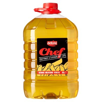 Chef olie 5 l can