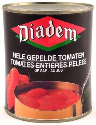 Gepelde tomaten 2/4 diadem 0.5 l