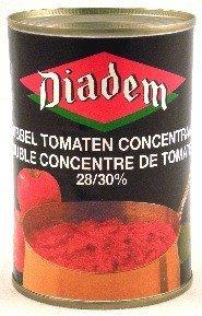 Gehakte tomaten 400 gr blik diadem