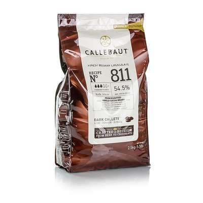 Callets puur 811 chocolade 2.5 kg