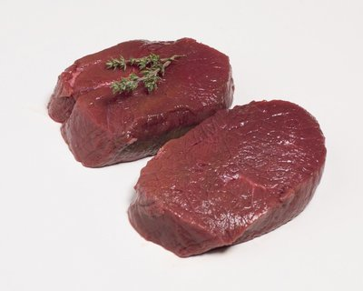 Hert steak 150 / 180 gr prijs/kg