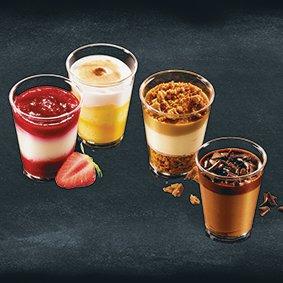 mini desserts mix 12 x 8 x 66ml
