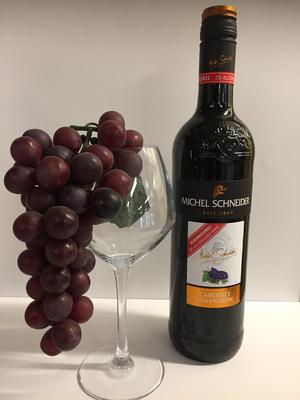 Michel schneider rood cabernet sauvignon 75cl  ALCOHOLVRIJ