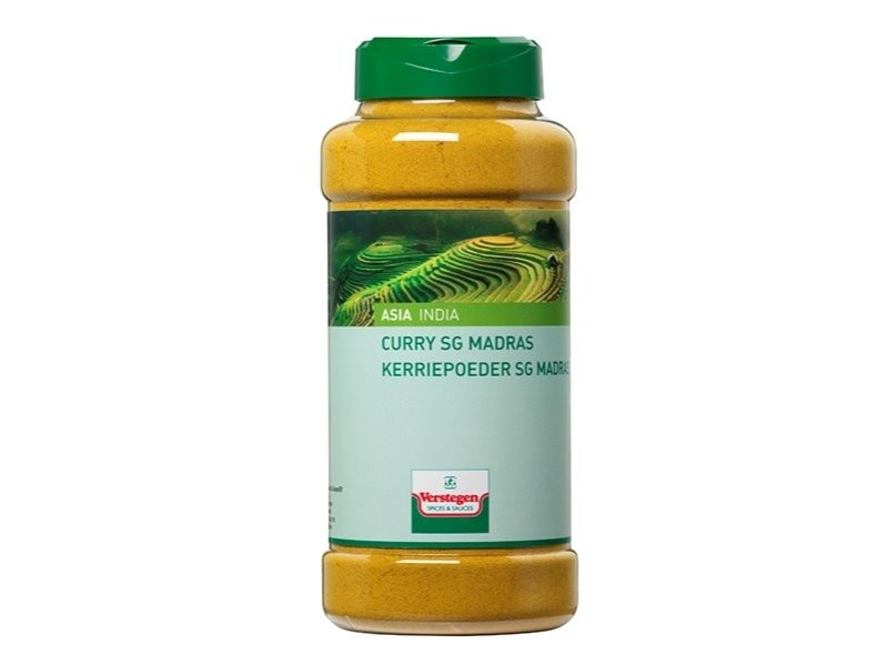Kerriepoeder madras Verstegen 530 g