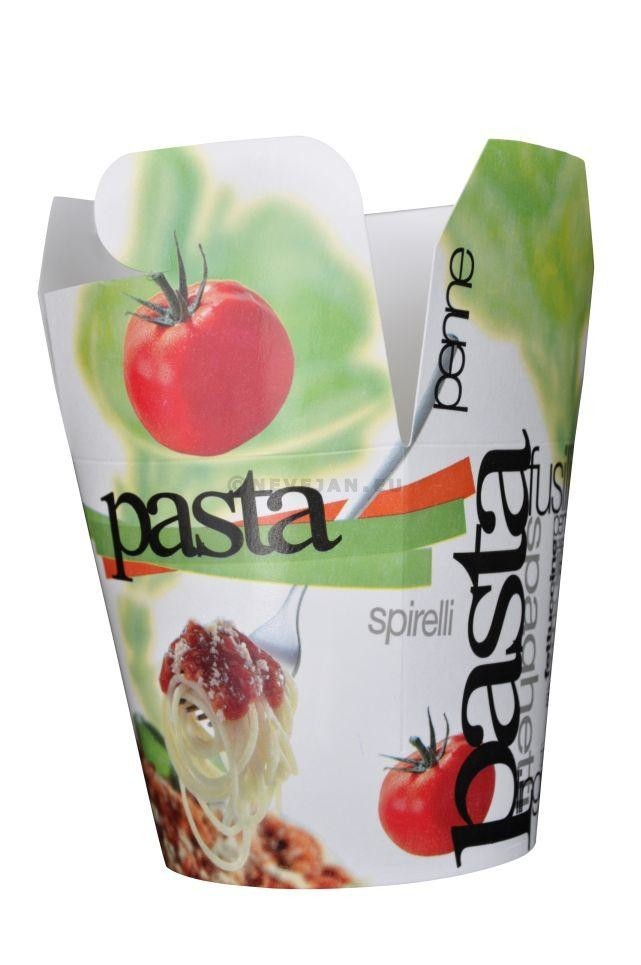 Pastabeker retro 750ml x 50st 370621