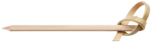 Prikker met knoop bamboe 10 cm 250st 3702230