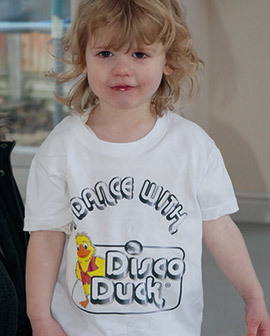 Disco Duck Kids T Shirt (limited stock!) SALE!