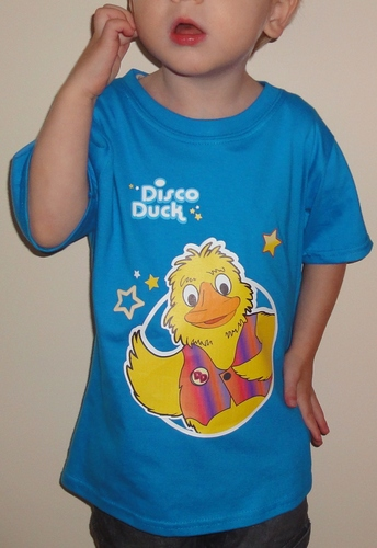 Childs T shirt Blue  (order quantity 1-9) RRP £10.50. Please specify sizes.