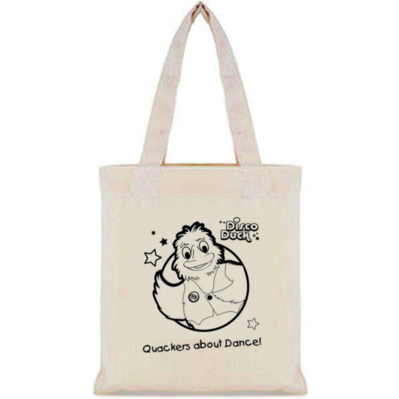 Disco Duck small shopping bag.