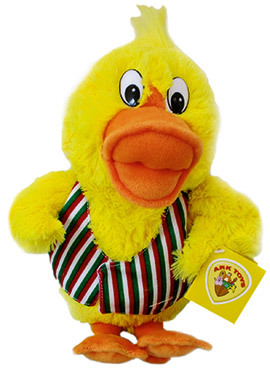 FESTIVE DEALS! - DISCO DUCK SOFT TOY - FREE BAG WITH EACH PURCHASE!