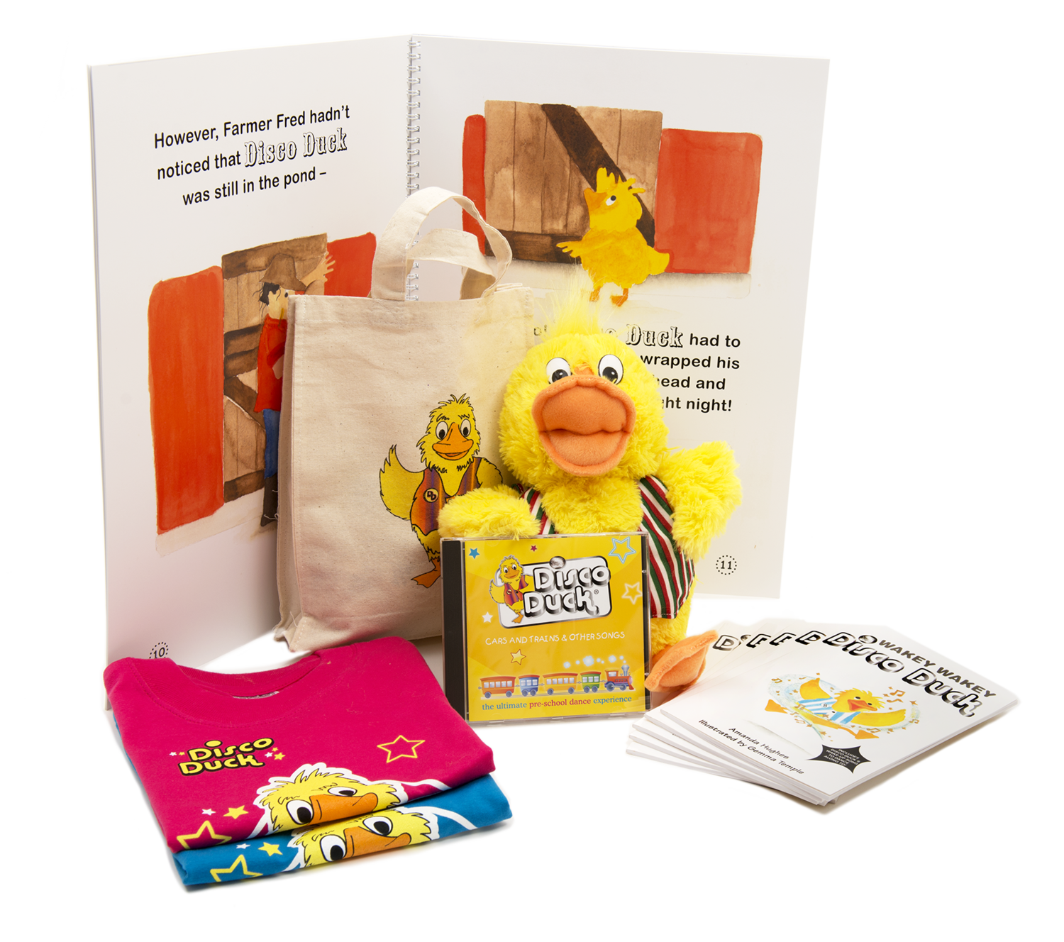 AWARD WINNING DISCO DUCK PRE-SCHOOL DANCE RESOURCES -  START YOUR OWN DISCO DUCK CLASS!  Terms and conditions apply, see below.