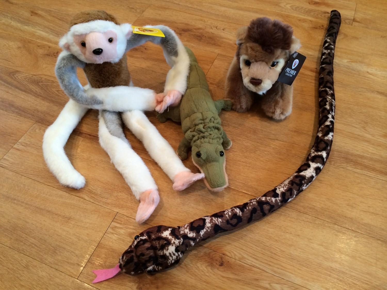 Jungle animals (monkey)