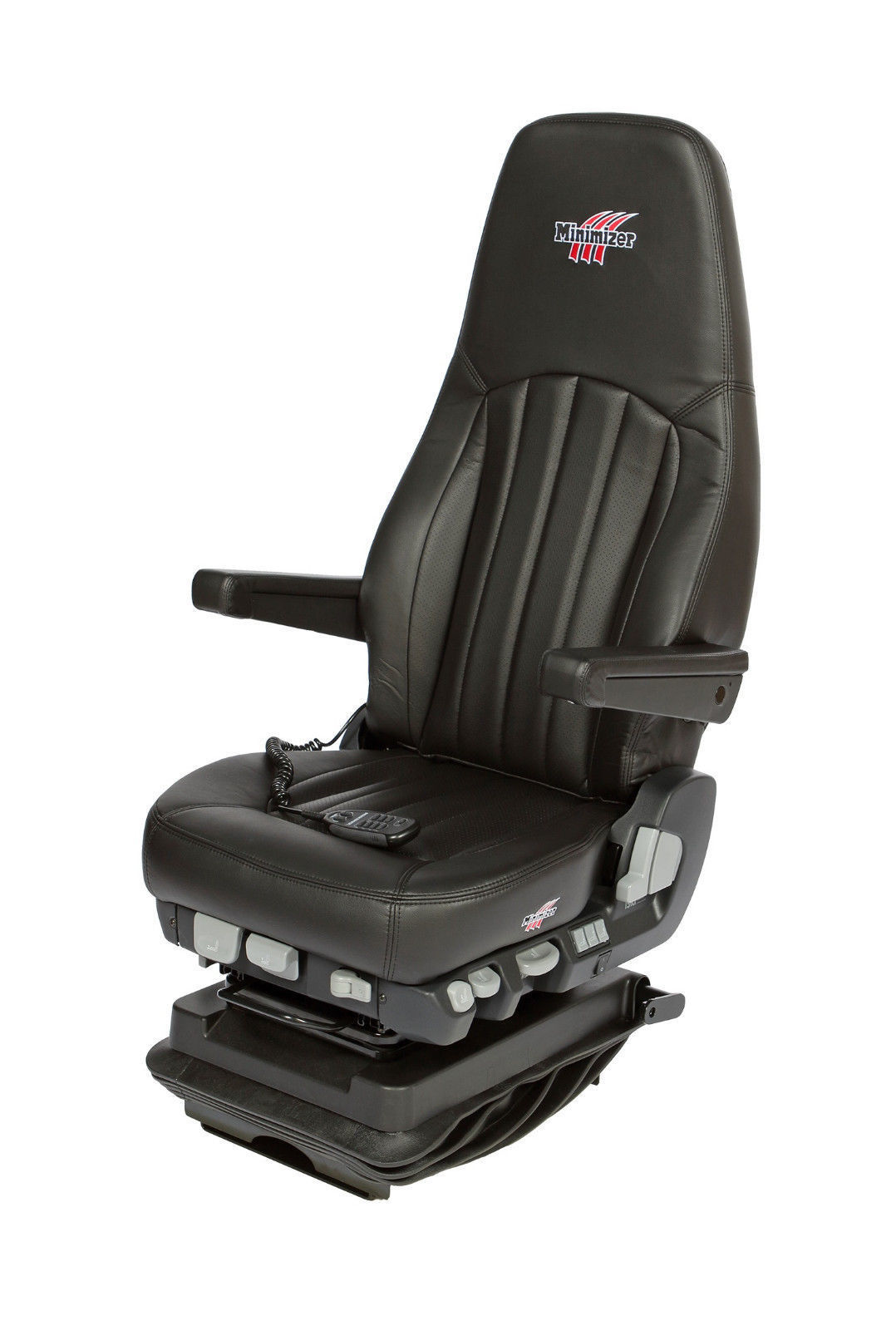 Minimizer Long Haul Series Ultra Leather Seat With Heat