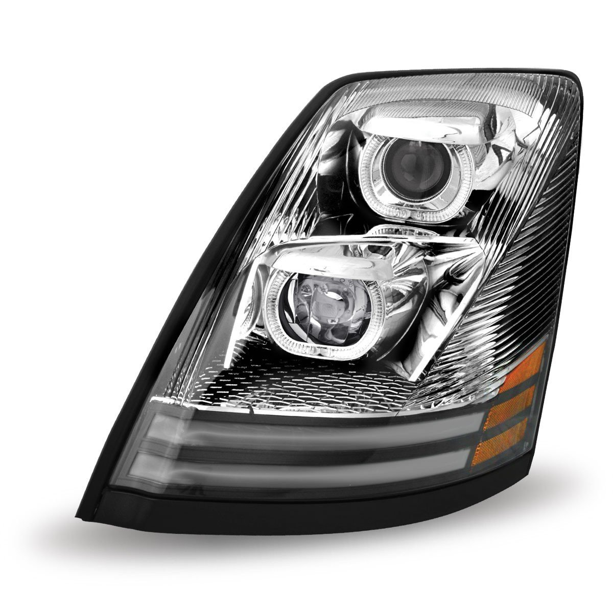 Volvo VNL LED Projector Headlight Assembly TLED-H17