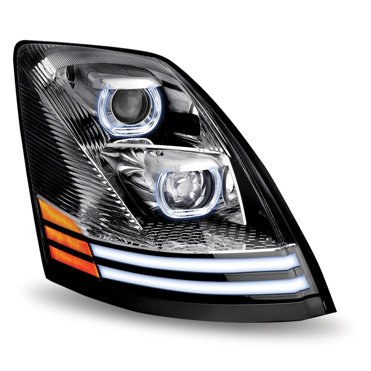 Volvo VNL LED Projector Headlight Assembly
