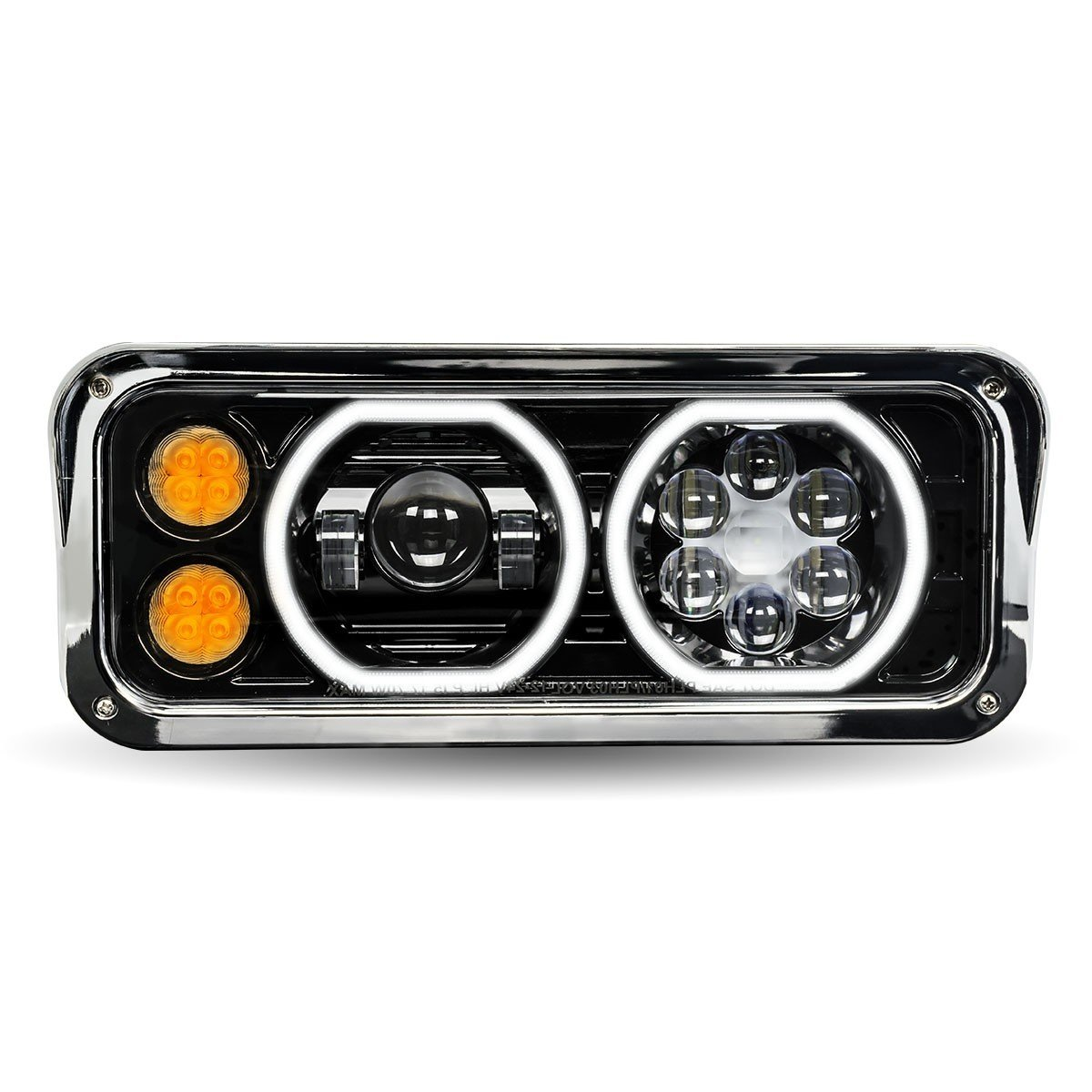 LED Projector Headlight Assembly