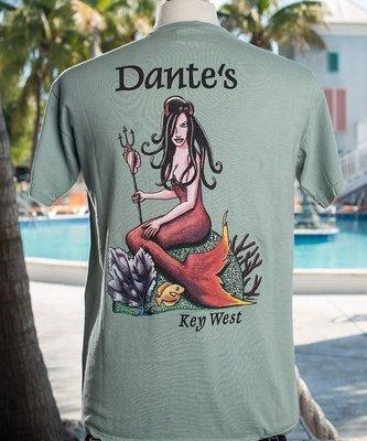 Dante's Unisex T-Shirt, Sea Green