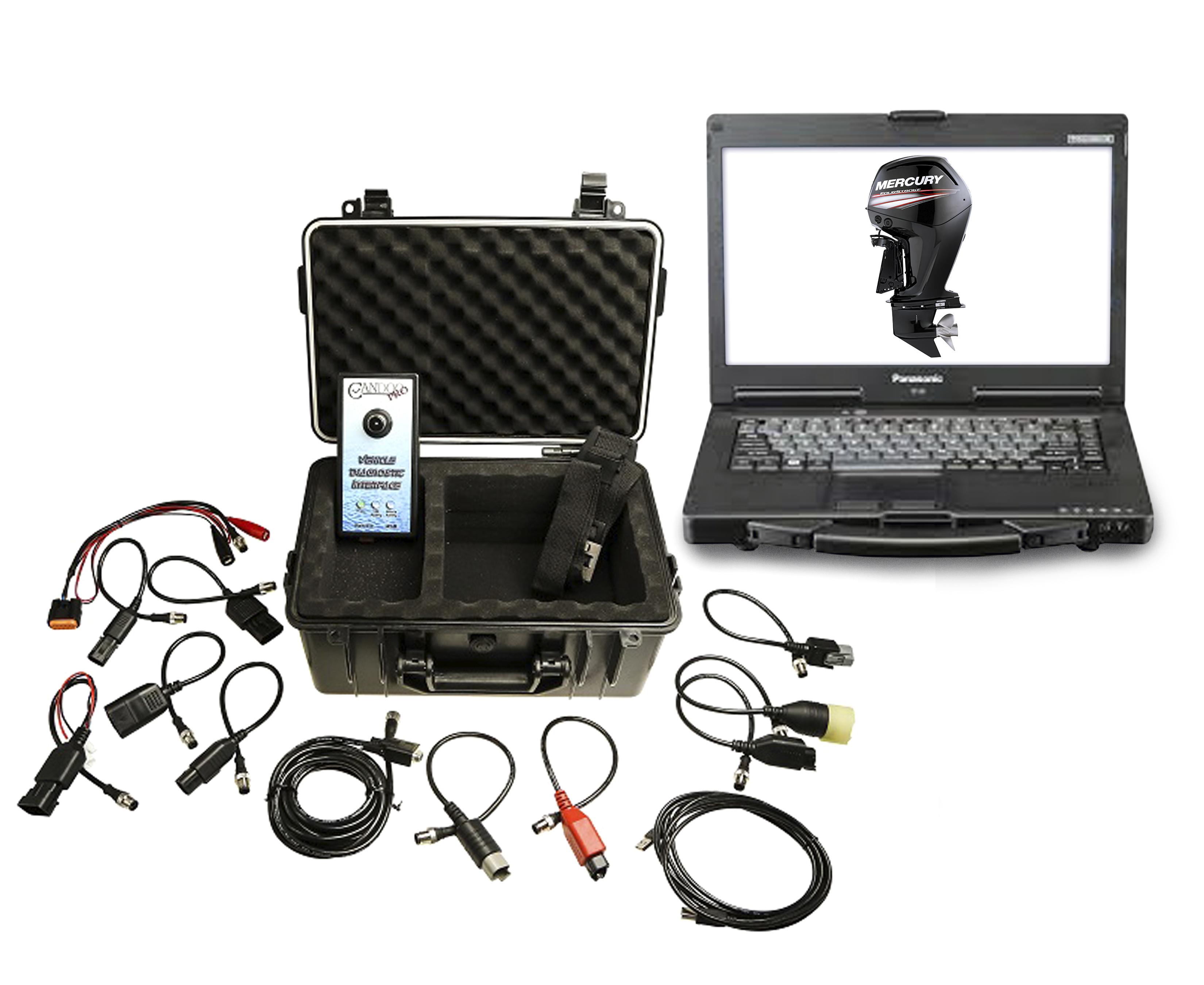 Marine Diagnostic Toughbook Dealer Tool Evinrude,Johnson, Suzuki, Honda and ,Yamaha 00201