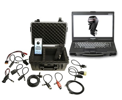Marine Diagnostic Toughbook Dealer Tool Evinrude,Johnson, Suzuki, Honda and ,Yamaha