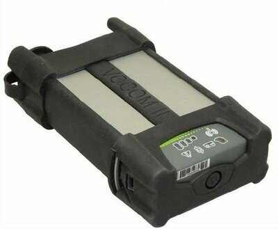 Volvo VOCOM II 88894000 Adapter with Datalink 88890313 USB Cable, 88894001 OBD Cable and 88890315 Deutsch (9-pin) cable capable of ECU programming kit.