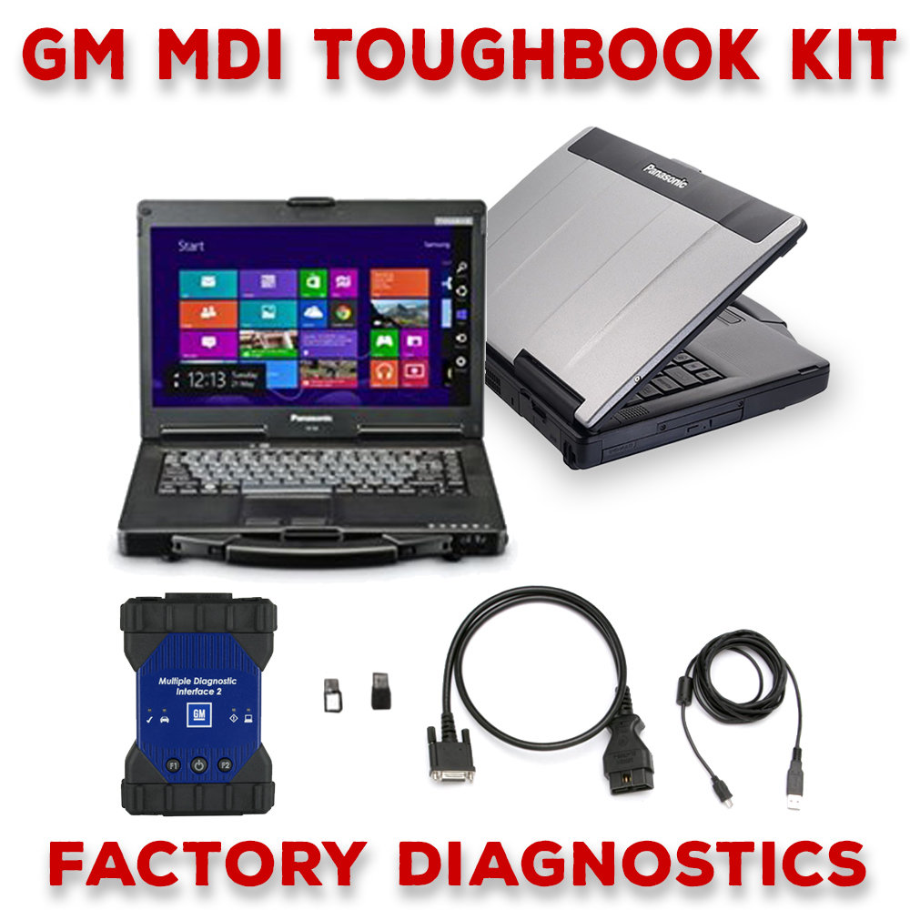 GM MDI 2 Toughbook Dealer Package Full Warranty 00197