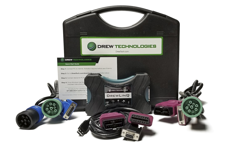 Standard DrewLinQ Kit Complete RP1210 Support 00004