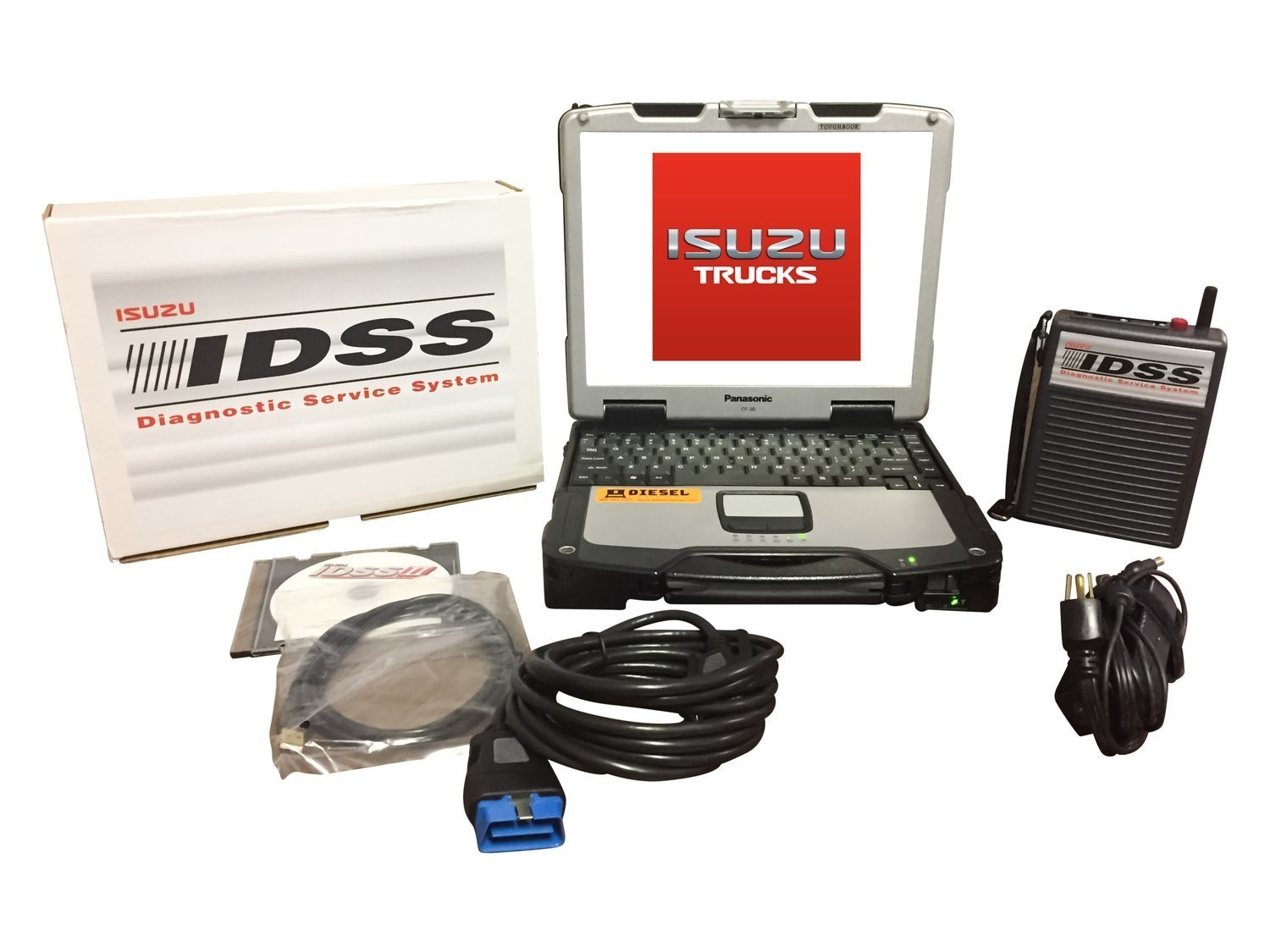 Isuzu IDSS Diesel Diagnostic Laptop Kit 0028