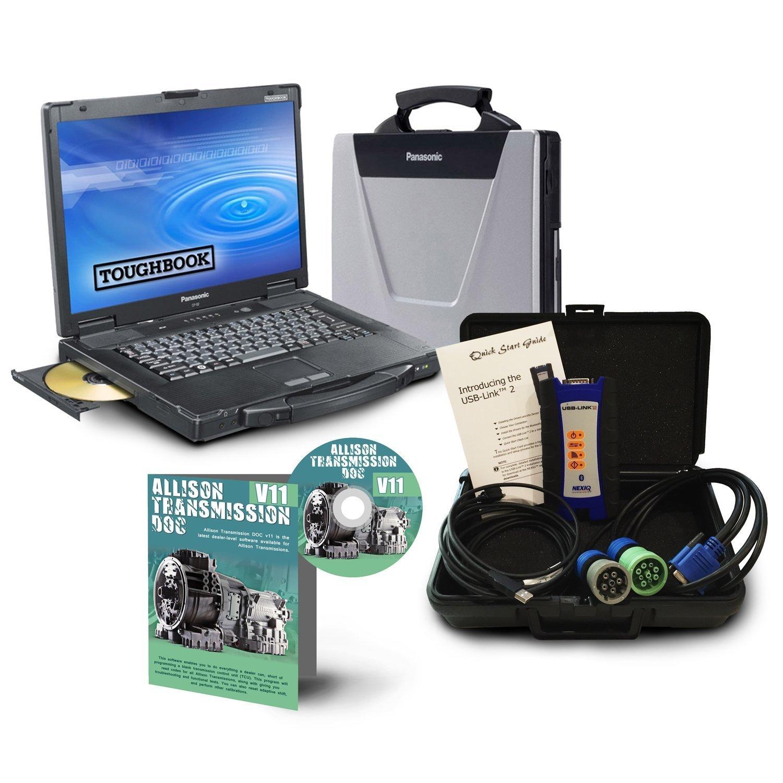 NexIQ USB Link 2 with Allison Toughbook Dealer Package 0041