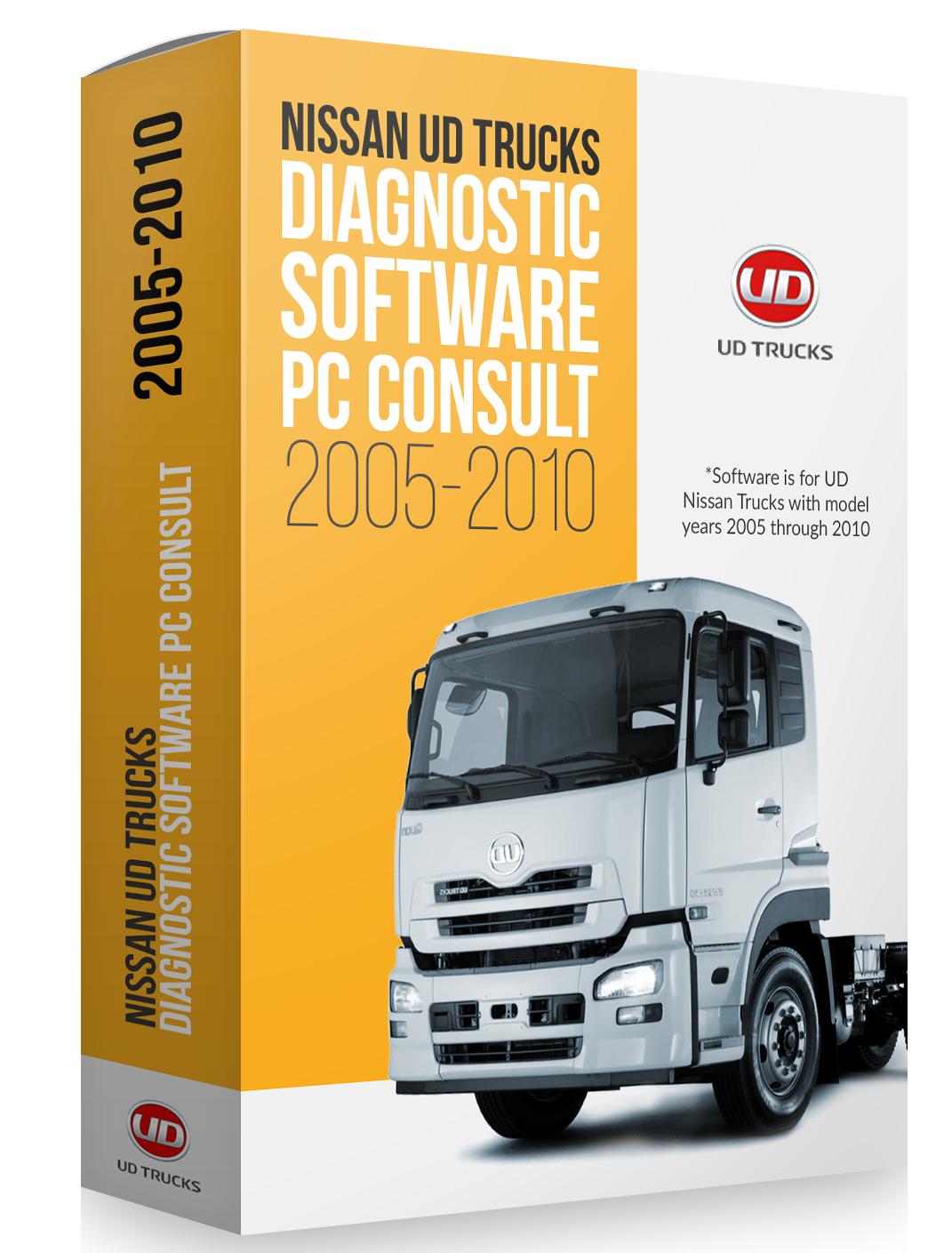 Nissan UD Trucks Diagnostic Software PC Consult (2005-2010) 0047