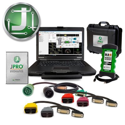 JPRO Heavy Truck Diagnostic Toughbook Package with Repair Information Manuals CUMMINS DETROIT INTERNATIONAL PACCAR VOLVO MACK