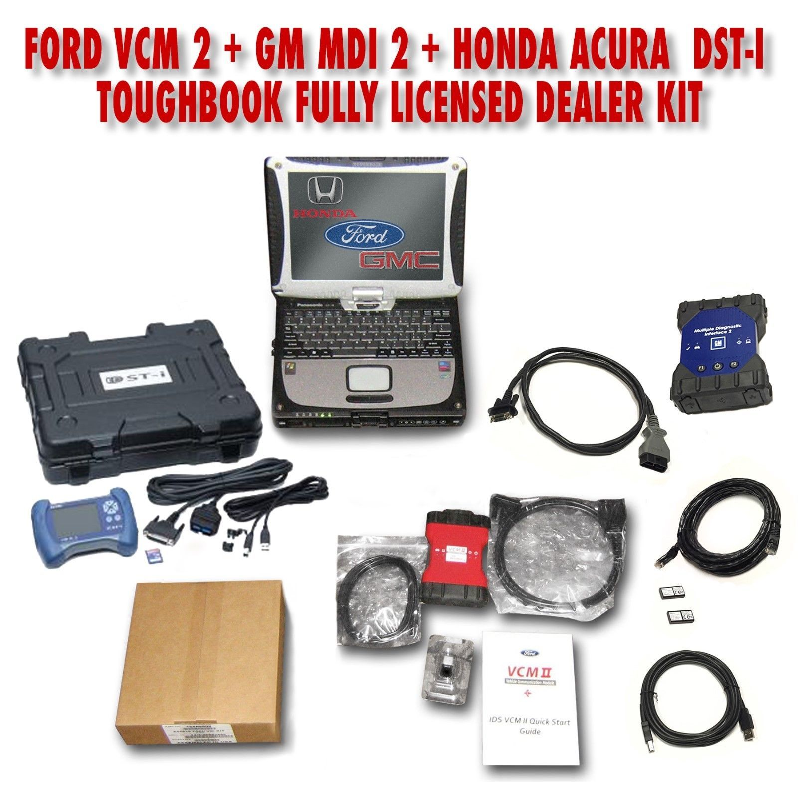 Ford VCM 2, GM MDI 2, Honda Acura Dealer Pack CRAZYSAVINGS01