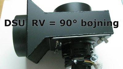 Røgsuger DSU RV = 90 graders bøjning bestillings vare