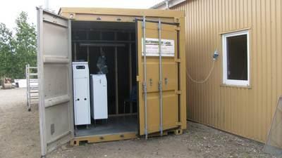 Containerfyrrum m. DSU 17 KW
