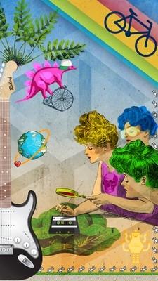 Collage Wallpaper Iphone Macbook