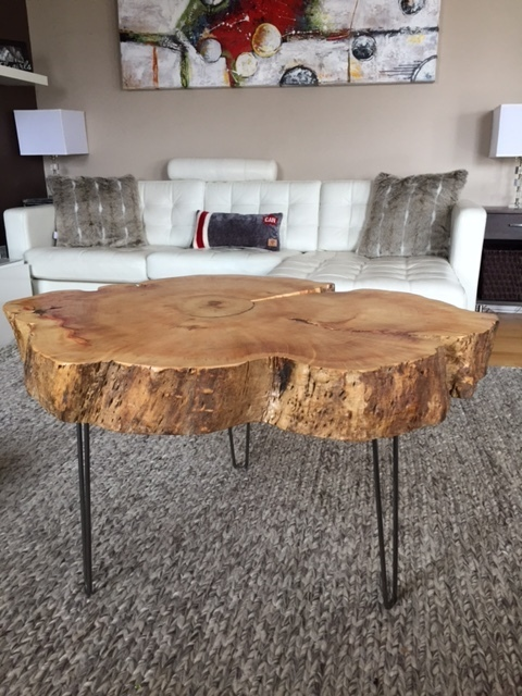 Round Coffee Table Hairpin Legs 2