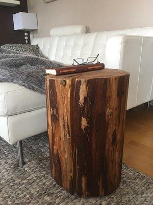 Stump Side Table Log Side Tables Log Stool Rustic Coffee