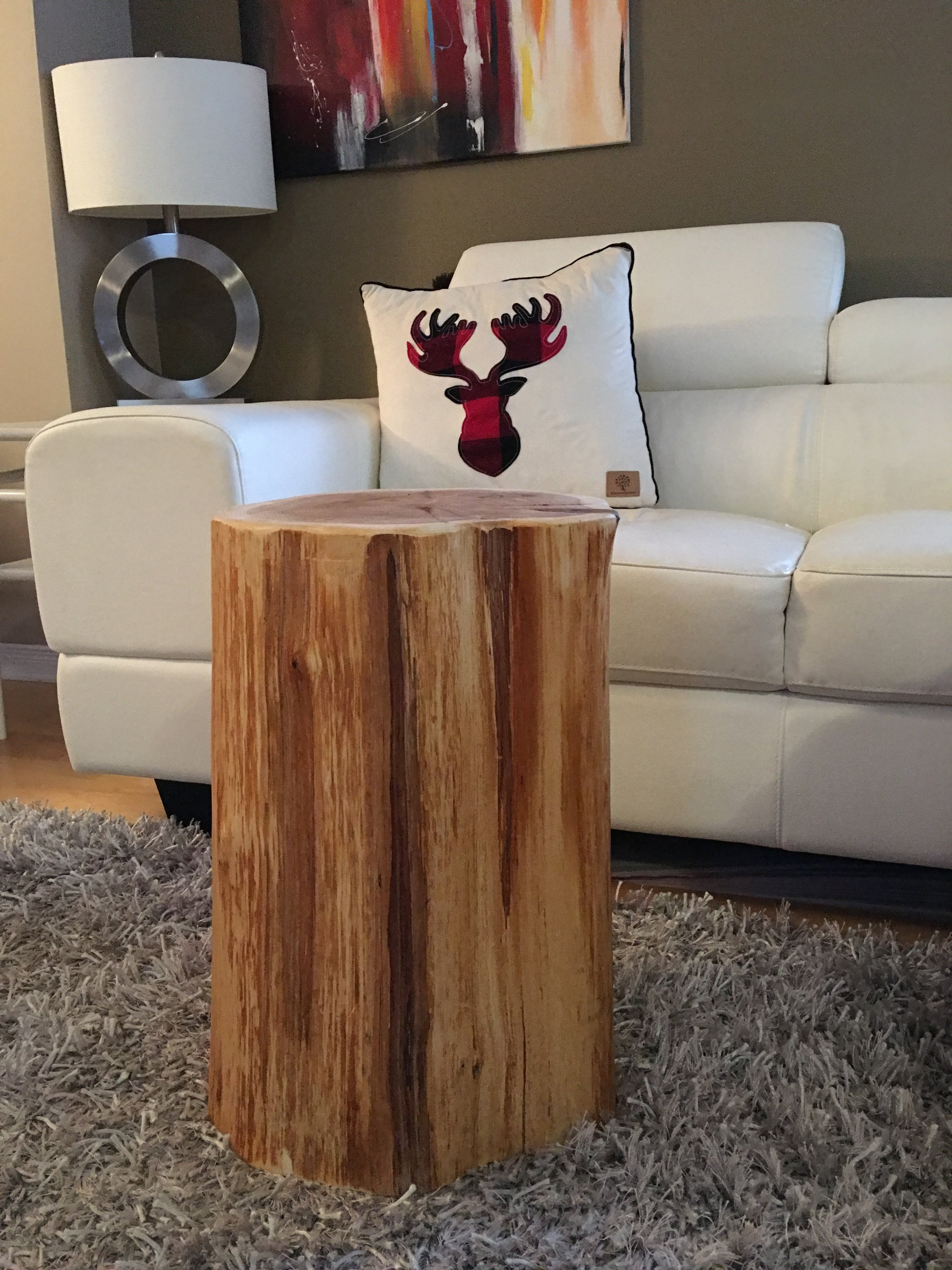 Tree Trunk Table Stump Side Table Log Side Tables Log Stool