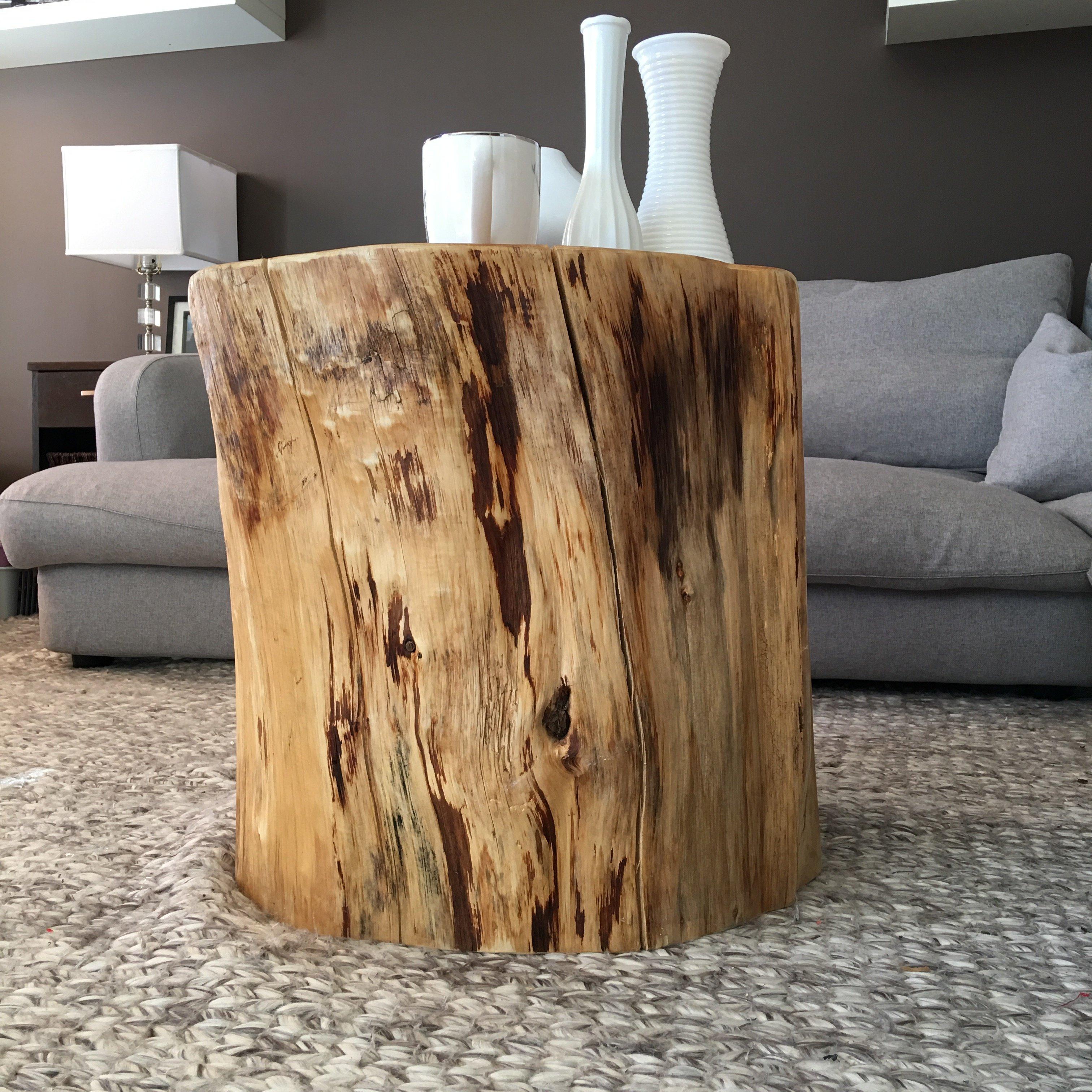 83 Cedar Stump Coffee Table Furniture Stump Coffee Table Amazing
