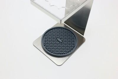Silicone Coaster, Grey.