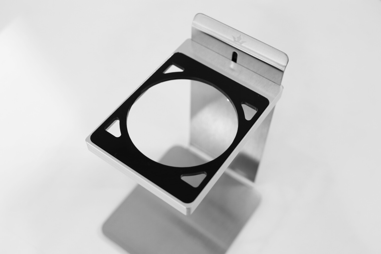 Acrylic Dripper Plate, 71mm (Black) for MaikoDrip Coffee Stand
