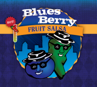 Blues Berry Fruit Salsa