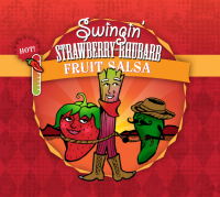 Swingin' Strawberry-Rhubarb Fruit Salsa