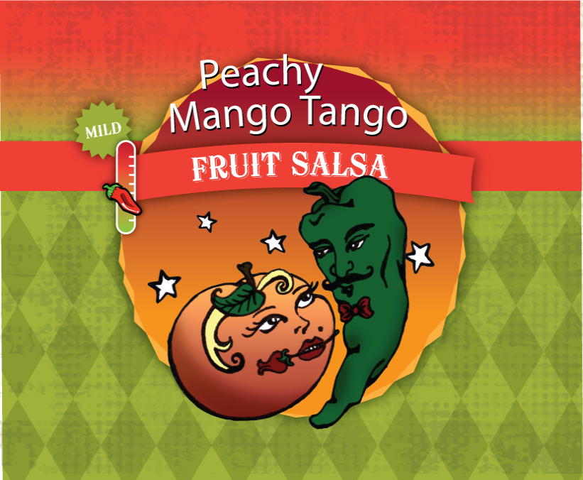 Peachy-Mango Tango Fruit Salsa