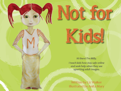 Not For Kids! children's book - 'missing word' copies