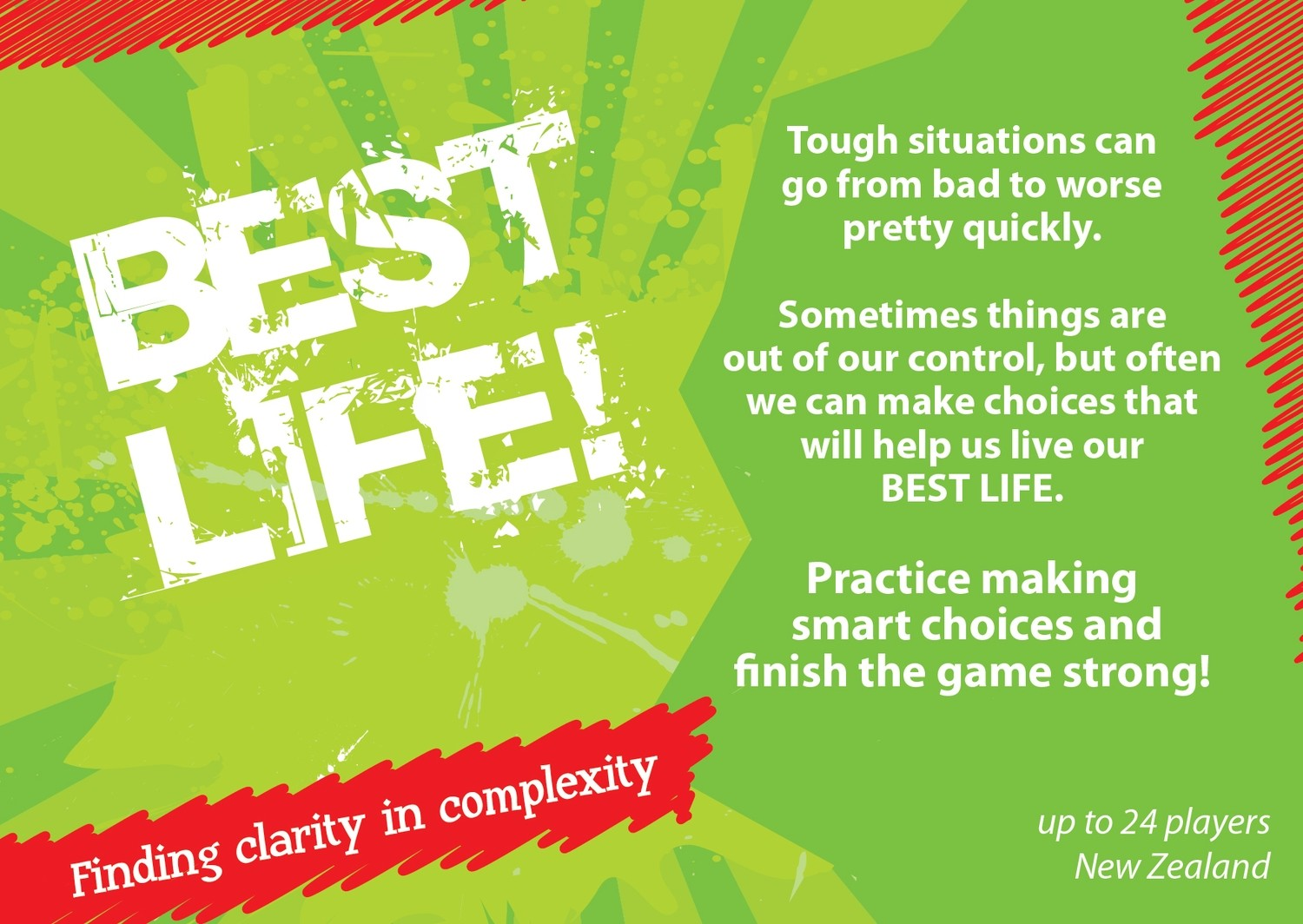 BEST LIFE! interactive card game New Zealand