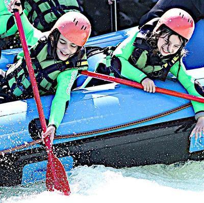 Kinder-Rafting Tirol