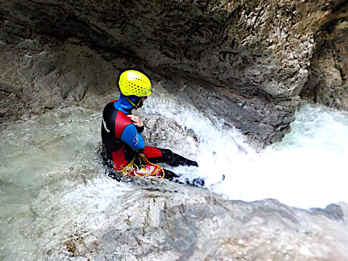 Canyoning Hühnerbach