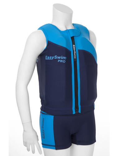 EasySwim Pro Swim Flotation Jacket for girls (pink) and boys (blue)