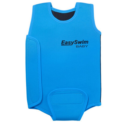 EasySwim FUN Swim Flotation Jacket for girls (pink) and boys (blue)